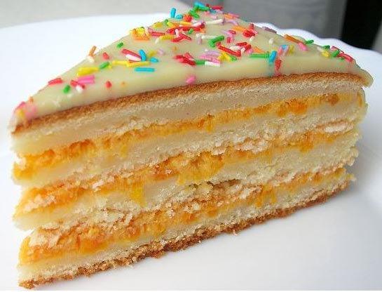 Торт манник, рецепт