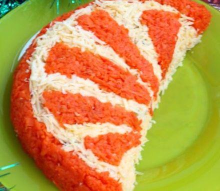Рецепт салата апельсиновая долька фото